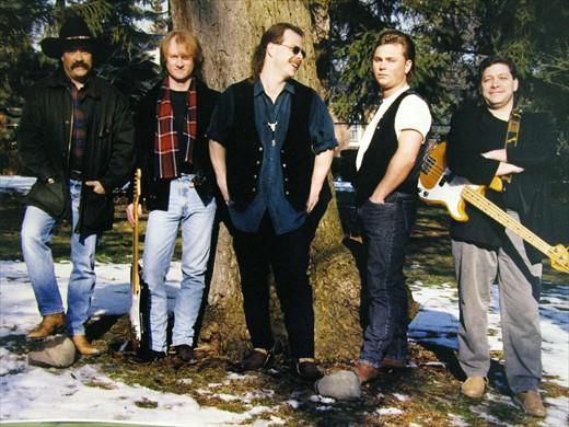 Whiskey River Band 1992 (approx)